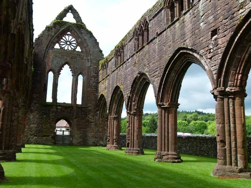 Ruine der Zisterzienser Abtei