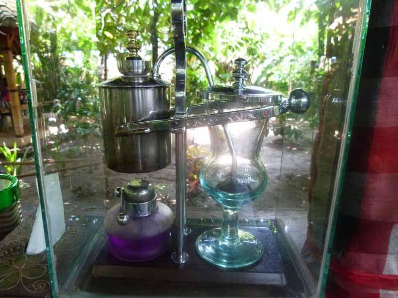 Luwak-Zubereitungsmaschine