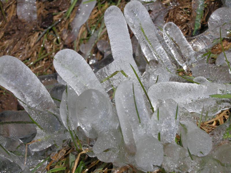 Gebilde vom Eisregen