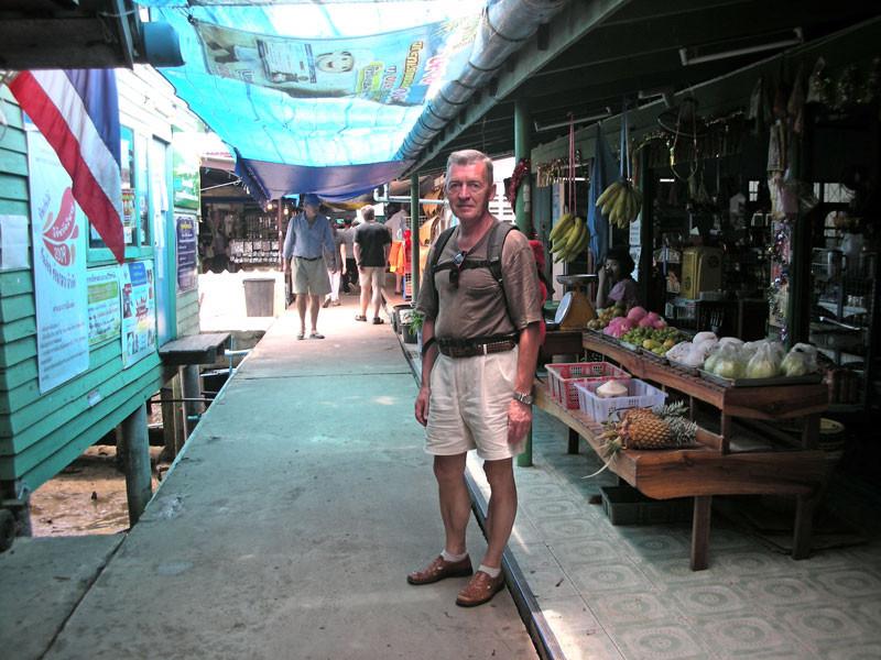 Steg als Hauptstraße durch den Fischerort