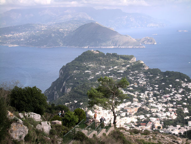 Blick auf die Sorrentinische Halbinsel