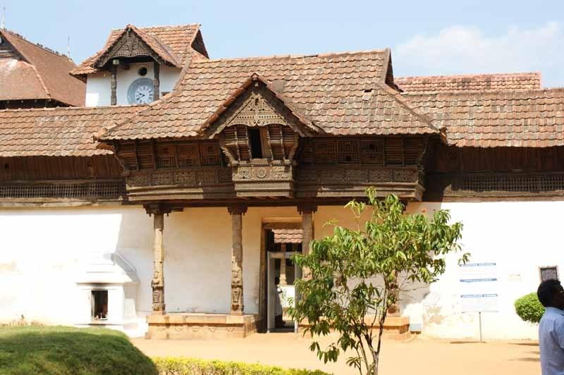 Padmanabhapuram Palast - wer kann sich diesen Namen merken ?