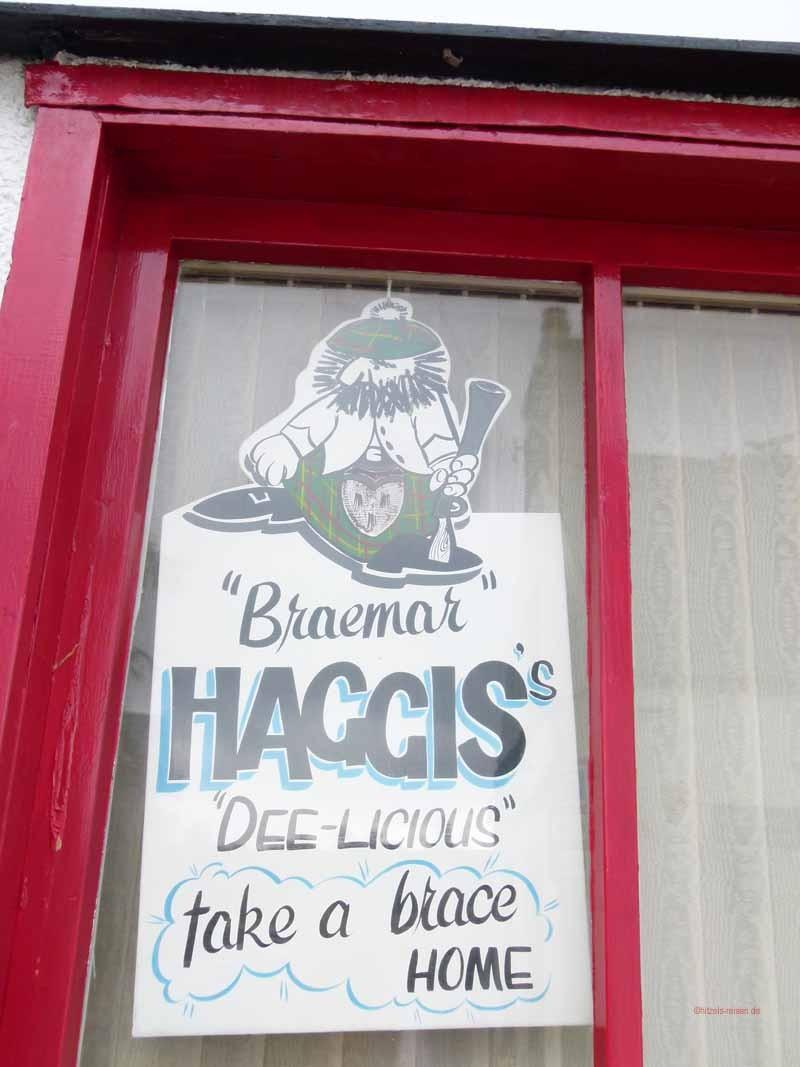 Haggis - Nationalgericht der Schotten