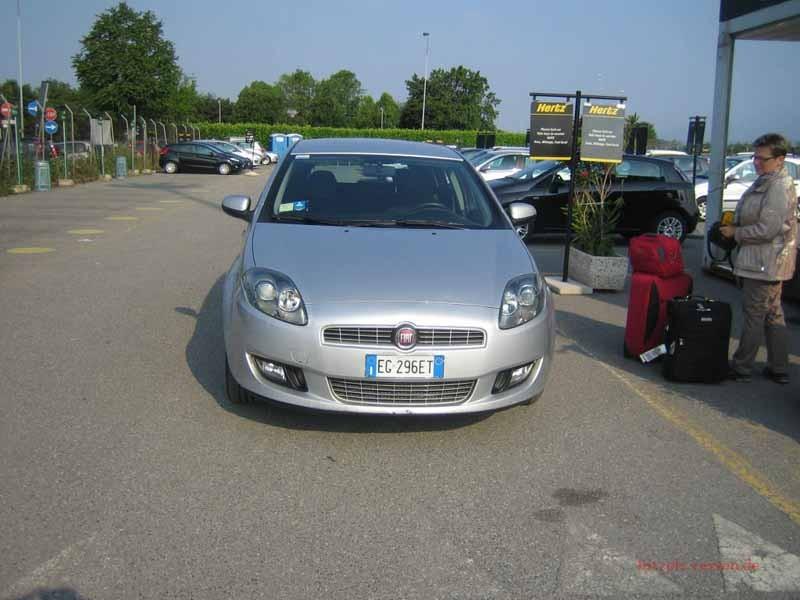 Unser Auto während der Tour