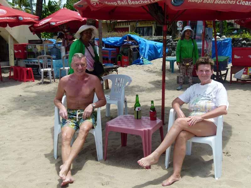 Dul's Strandbar - unsere tägliche Anlaufstelle