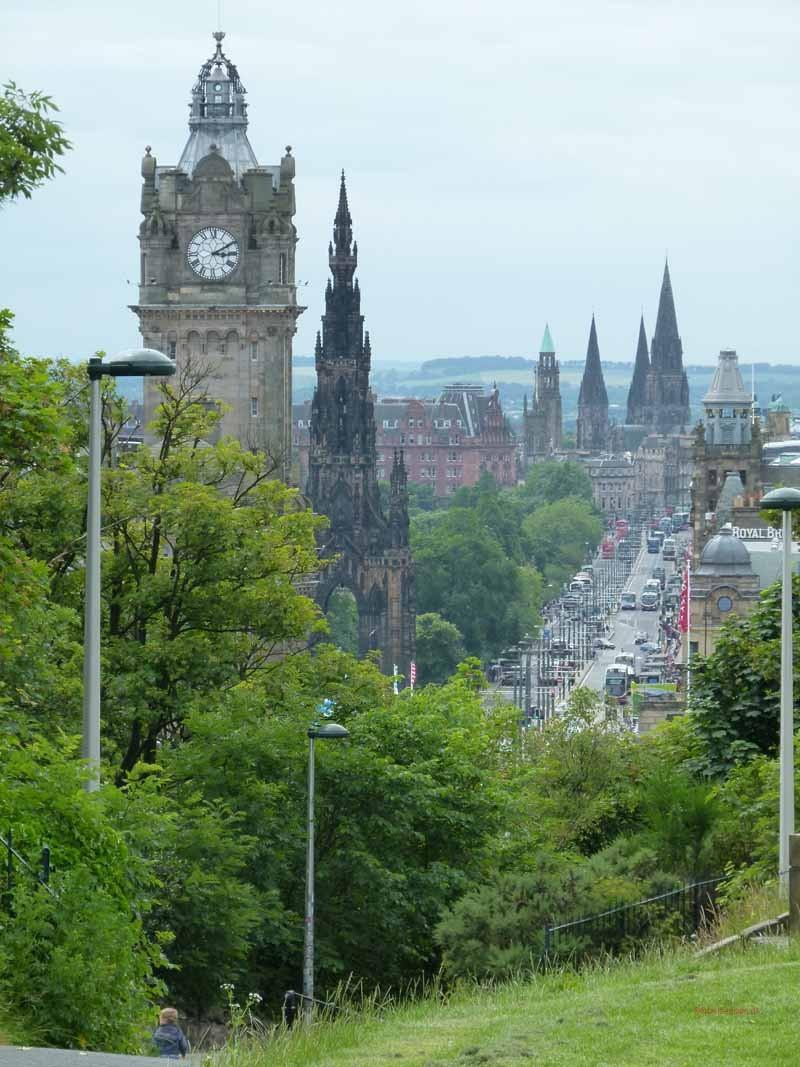 Blick in die Princess Street