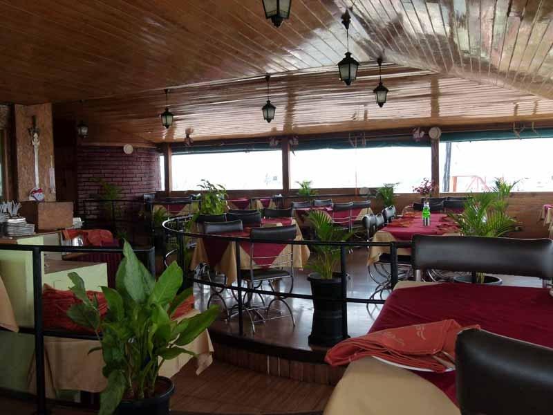Dachterrasse im Hotel