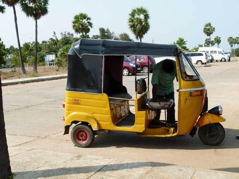 Alltags-Fortbewegungsmittel in Indien