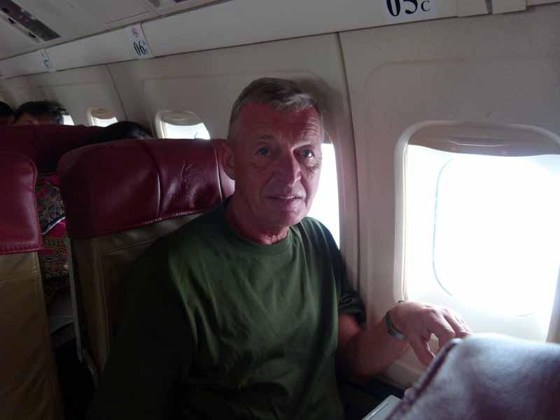 Flug nach Flores