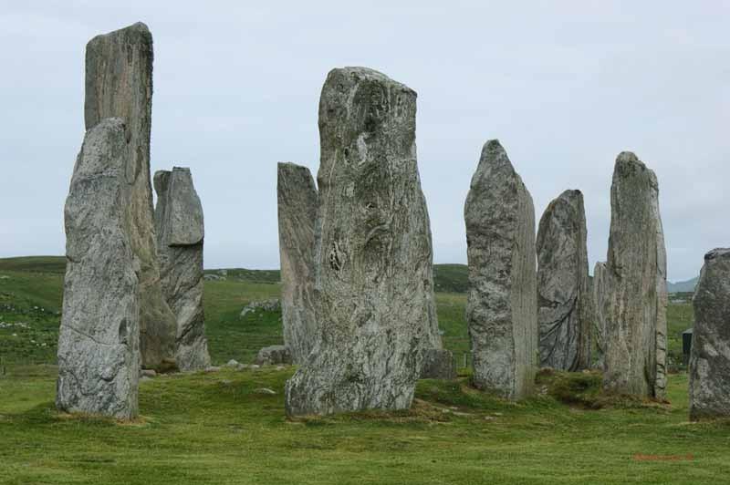 Die Calanais Stones - Menhire