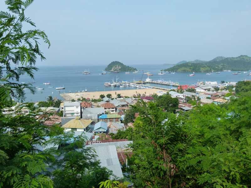 Hafen von Labuan Bajo