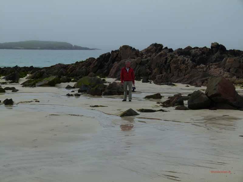 Am Strand von Mealasta
