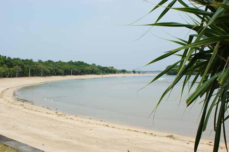Strandabschnitt von Nusa Dua