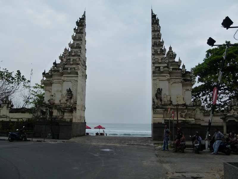 Legian Beach Gate