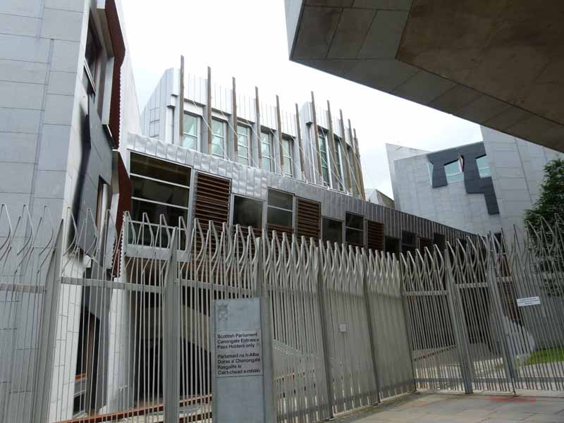 Bausünde - das Parlamentsgebäude
