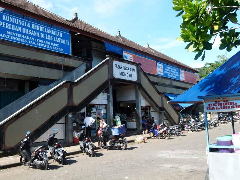 Eingang zum Markt in Mengwi