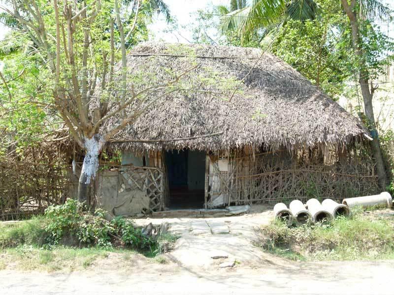 Typisches Dorfhaus