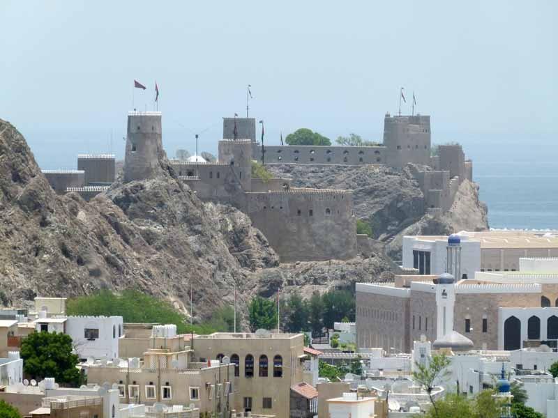 Die Festung beim Palast