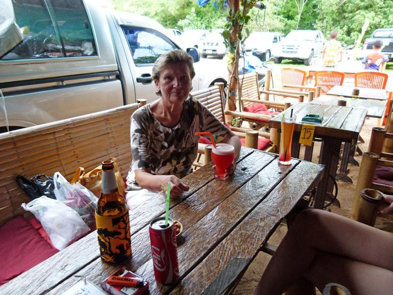 Die Cocktailbar auf dem Markt