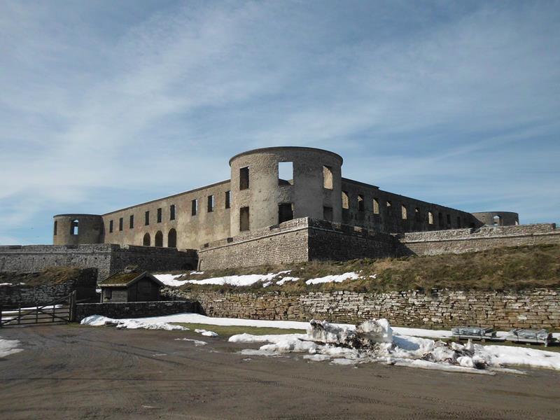 bedeutende Schlossruine