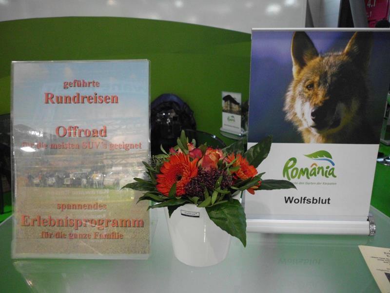 """""""Wolfsblut"""" auf der Urlaubs-Messe 2015 in Stuttgart"""
