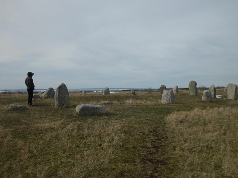 Stelen aus der Bronzezeit.