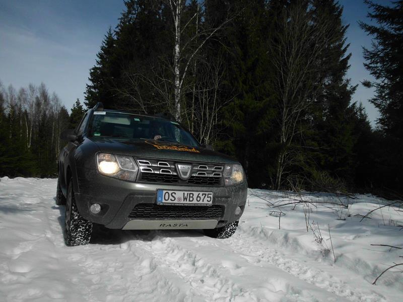 Schneereiches Südschweden im März 2018.