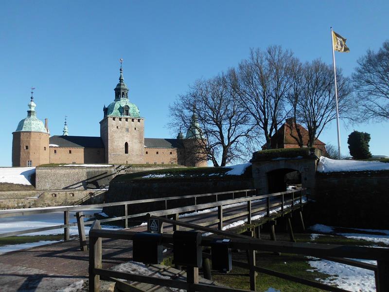 Kalmarer Union - Die Festung gehört zu den besterhaltenen Renaissanceschlössern Nordeuropas.