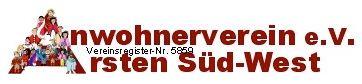 Anwohnerverein Arsten Süd-West e.V.  Hede-Lütjen-Str. 24  28279 Bremen