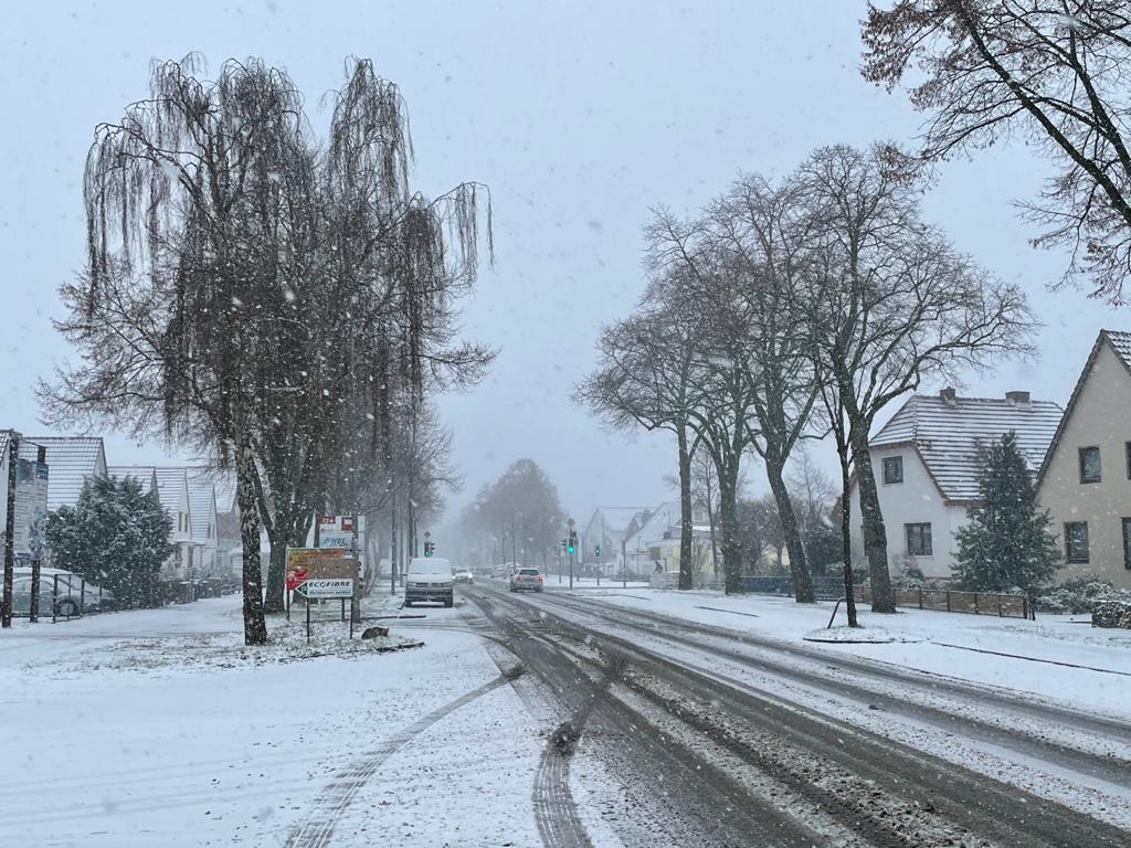 Winter 2021 in Bremen Obervieland