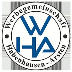Werbegemeinschaft Habenhausen-Arsten e.V. in Bremen-Obervieland (WHA Logo)