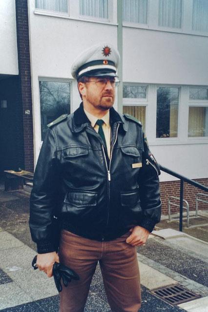 Thomas Kothe als KOP in Bremen-Kattenturm (Privatarchiv, Anfang der Nullerjahre)