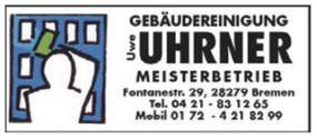 Uhr Uhrner Reinigungsfirma Bremen