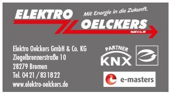 Elektro Oelckers in 28279 Bremen - Elektriker, Elektrobetrieb, Elektroinstallation