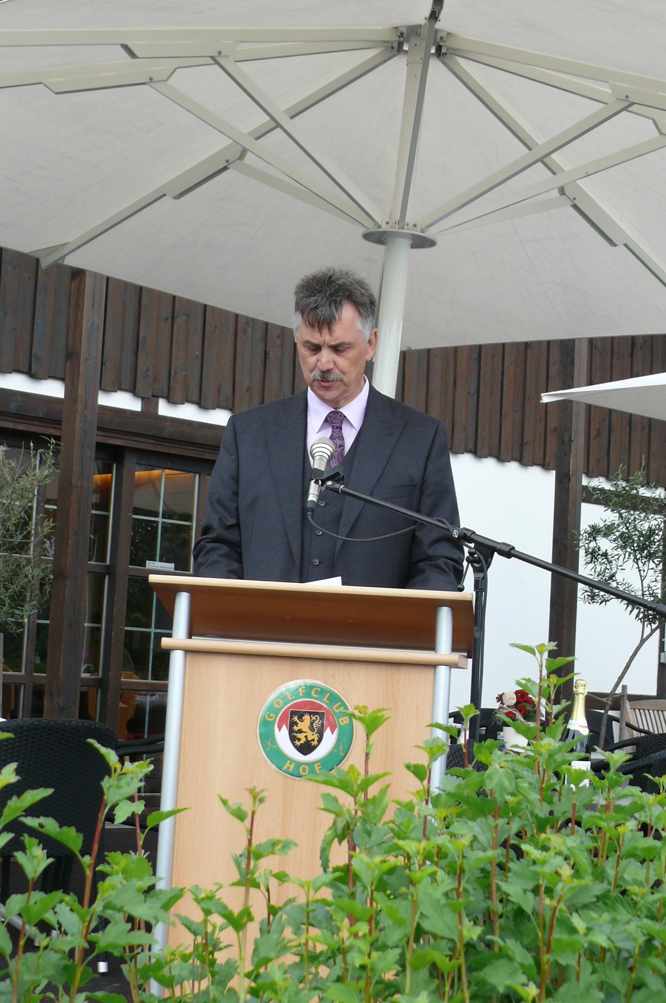 Bürgermeister Werner Völkl