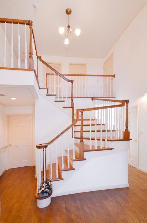 2Fフロアは使用しませんが階段昇降の運動訓練に階段を使用します。