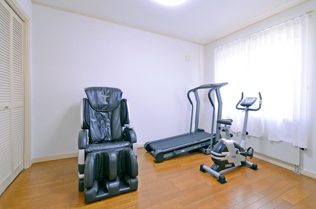 機能訓練や運動訓練に使用する事もある運動器具。