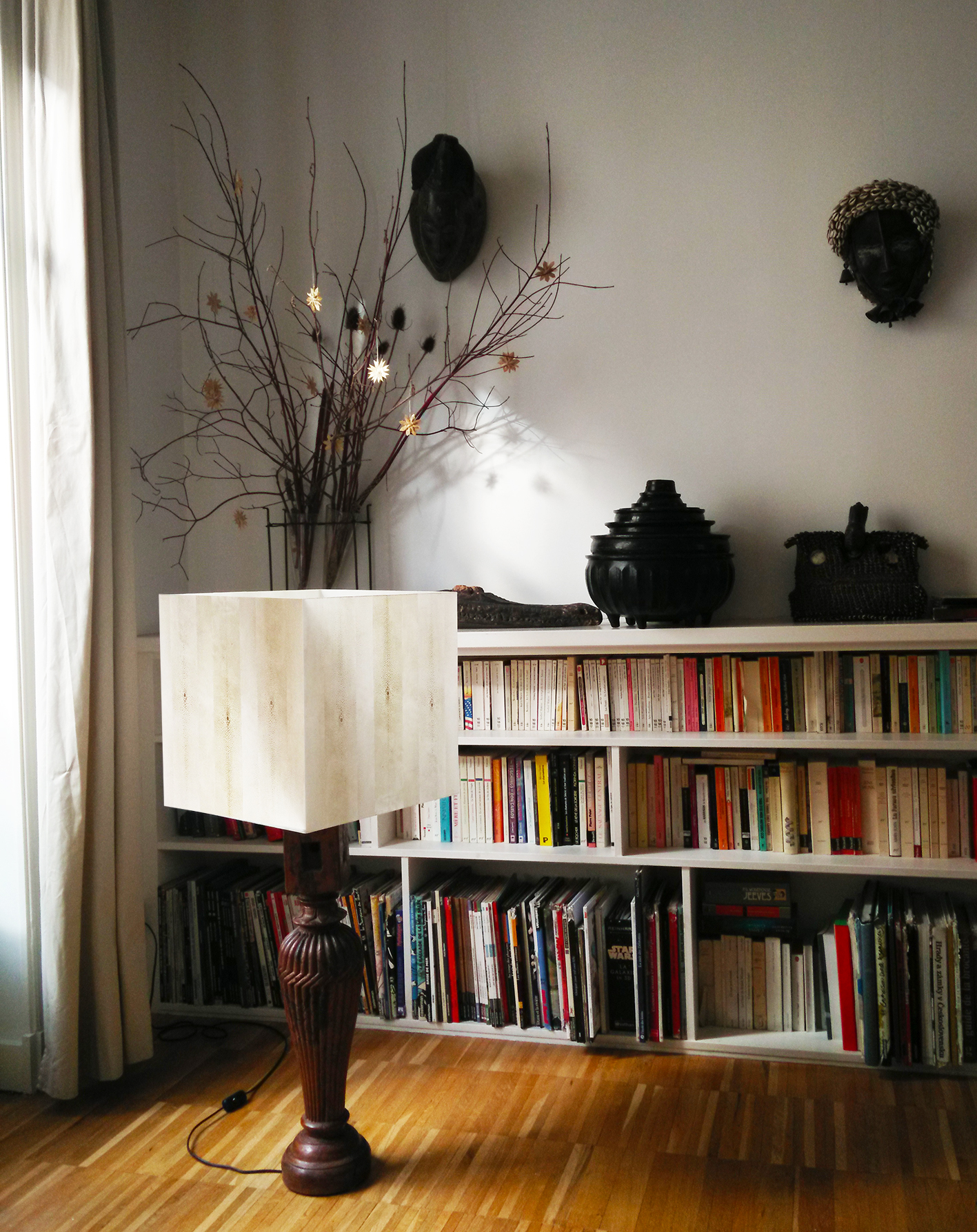 Custom made lamp - Particular client - Paris