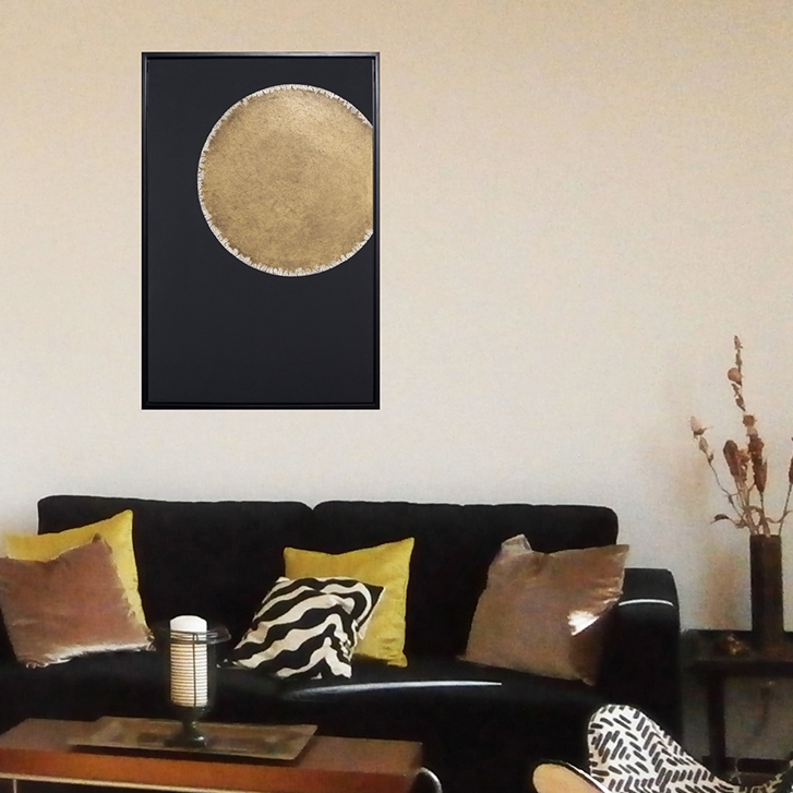 Red moon - Paintings collection - particular client - Courbevoie
