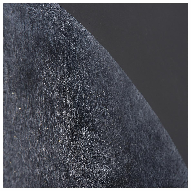 La lune noire - Laque finition cirée - Dimension : 60 x 90 cm