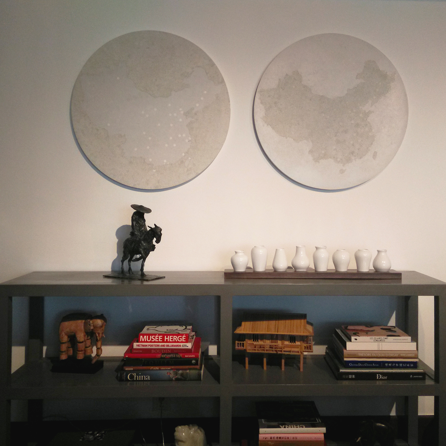 Yin yang - Paintings collection - particular client - Shanghai