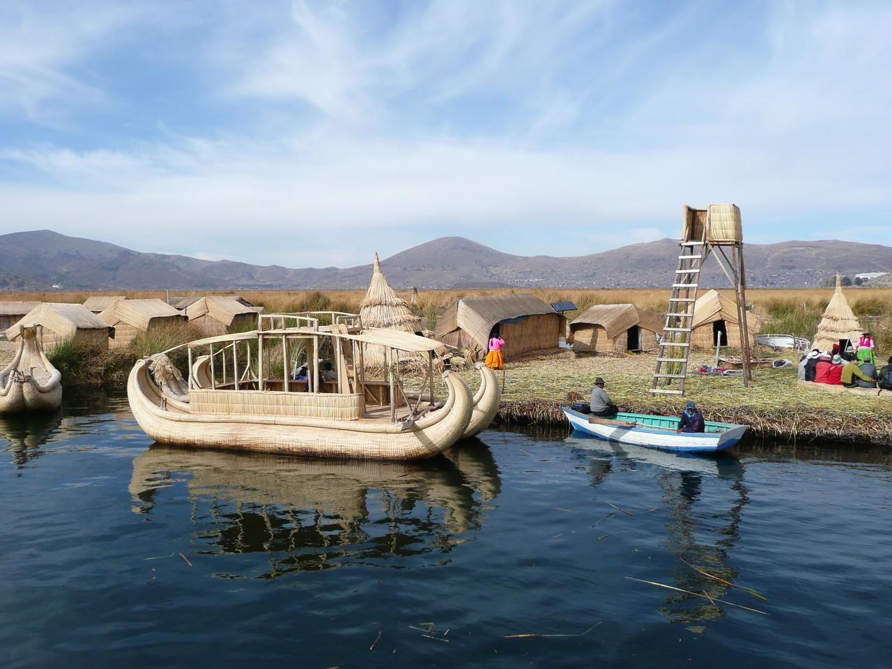 Isla de los Uros Titikaka See
