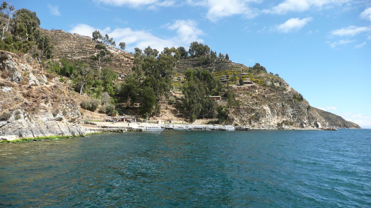 Insel auf dem Titikakasee