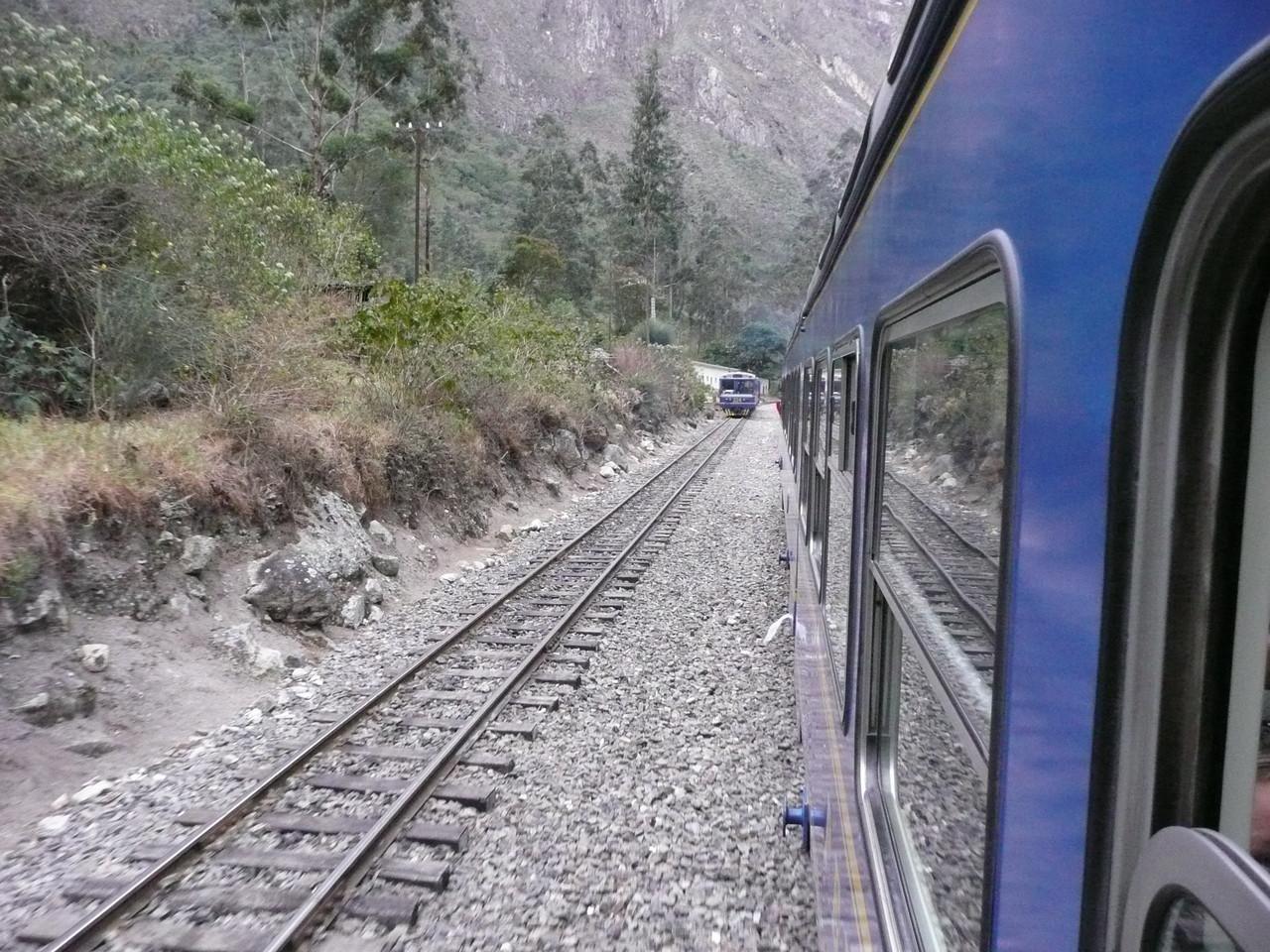 mit der Bahn nach Cuzco