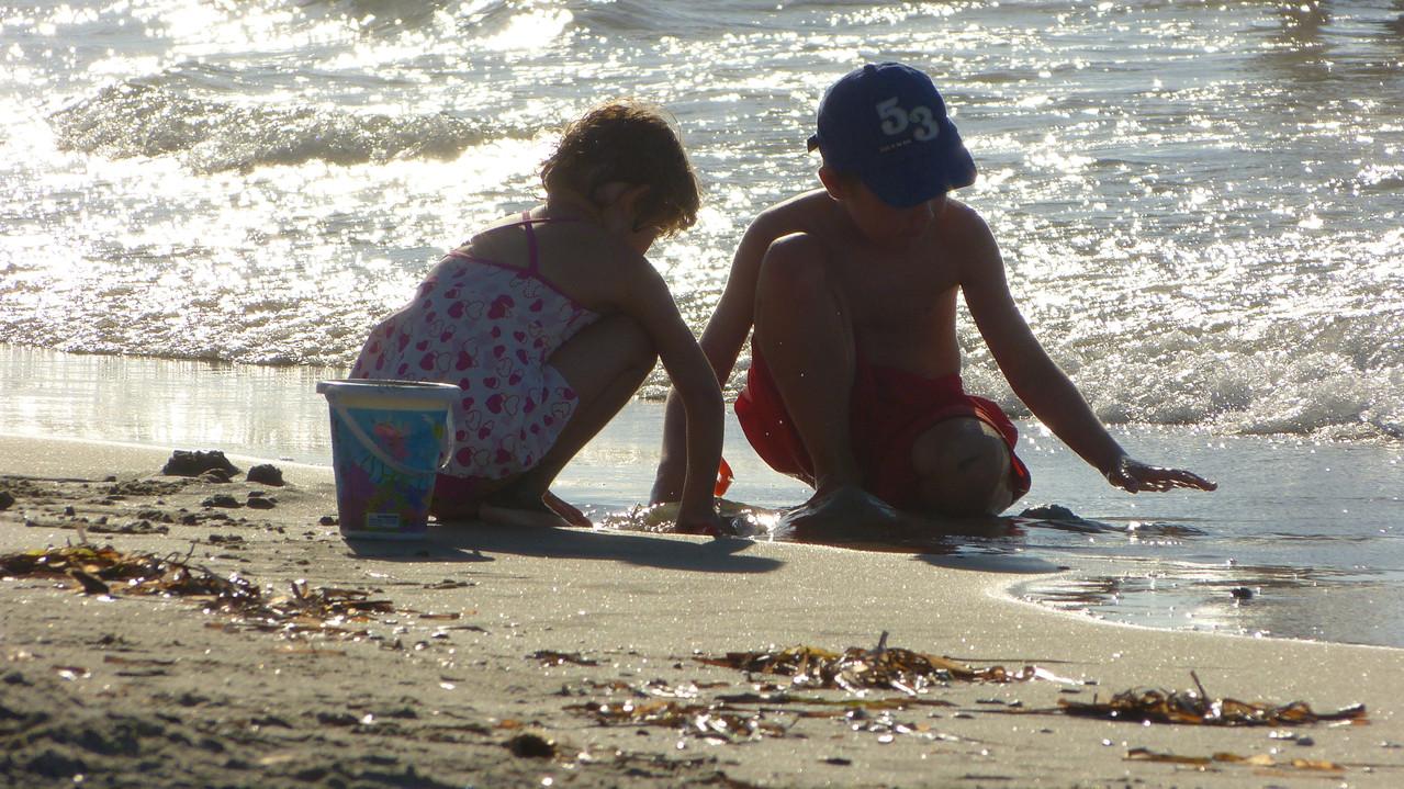 Strandurlaub mit Kleinkindern kann so einfach und schön sein!