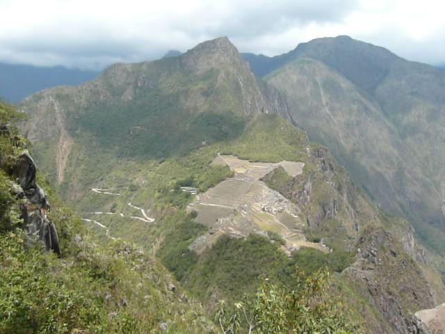 Blick vom Whyna Picchu