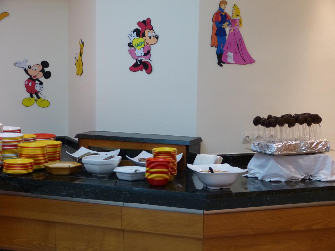 Kinderbuffet - bei Kindern sehr beliebt!