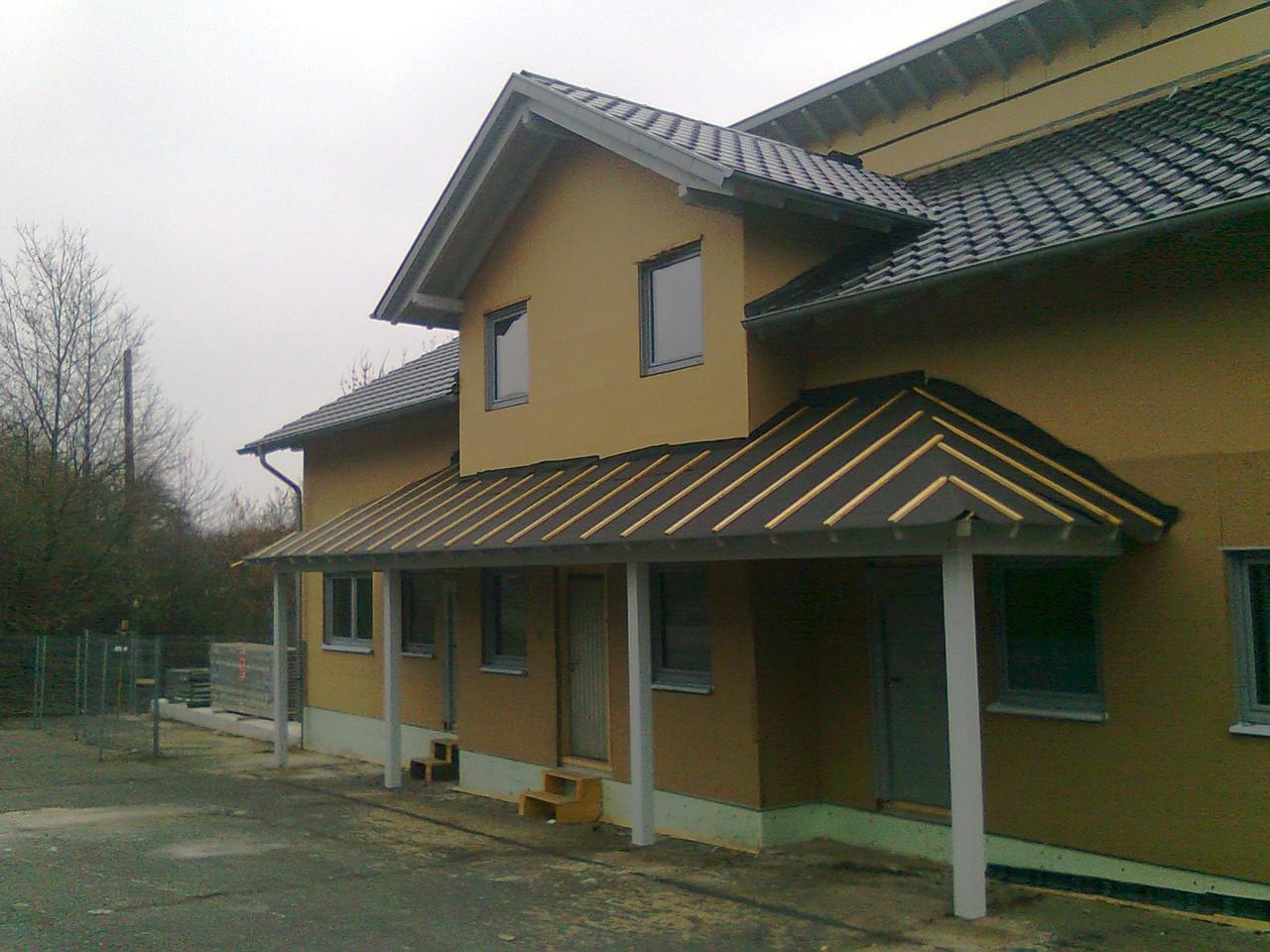 Neubau Hauptgebäude Holzbau Bernads (Holzrahmenbau)