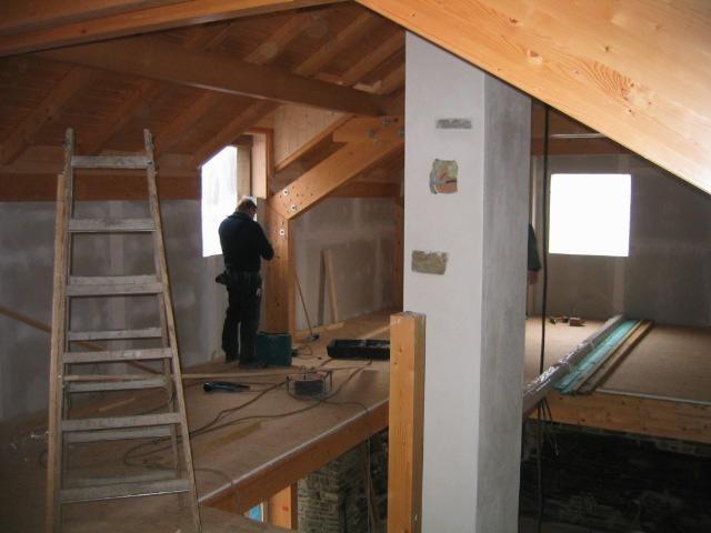 Rekonstruktion und Restrukturierung Fachwerkhaus