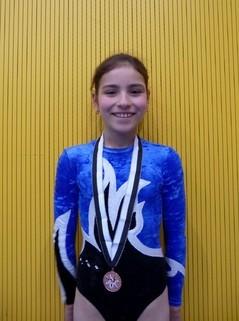 Irina (K4) mit ihrer Auszeichnung